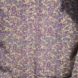 Large silky purple Lindsay kimono